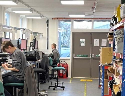 2 engineers complete their apprenticeships